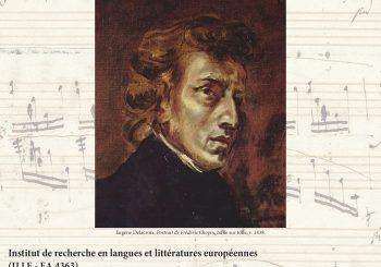 Écrire avec Chopin. Frédéric Chopin dans la littérature (21-23 juin 2018)