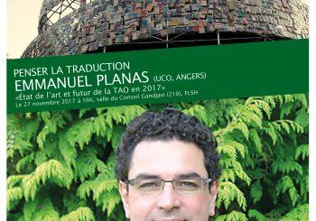 Emmanuel Planas, «Etat de l'art et futur de la TAO en 2017»