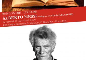 « Rencontre-lecture » avec ALBERTO NESSI