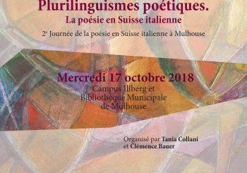 Plurilinguismes poétiques. La poésie en Suisse italienne